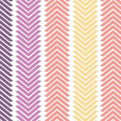 Wildberry Chevron Stripe-bavlněná látka CAMELOT FABRICS - 1