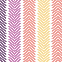 Wildberry Chevron Stripe-cotton fabric