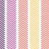 Wildberry Chevron Stripe