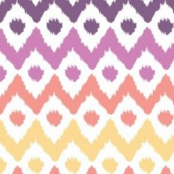 Wildberry Ikat-cotton fabric