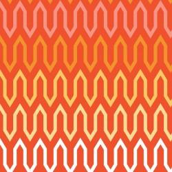 Chamomile Fretwork-tkanina bawełniana