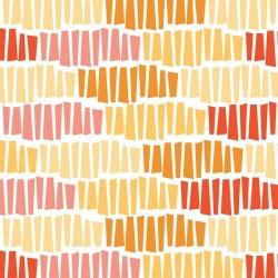 Chamomile Tessellation-tkanina bawełniana