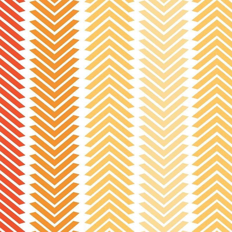 Chamomile Chevron Stripe-bavlněná látka CAMELOT FABRICS - 1