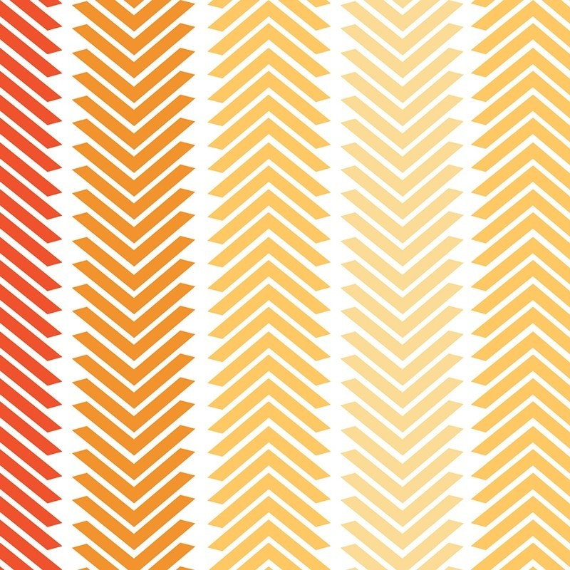 Chamomile Chevron Stripe