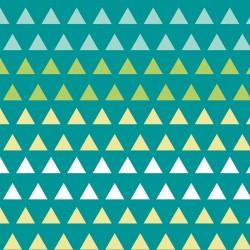 Bali Triangle Gradient-bavlněná látka
