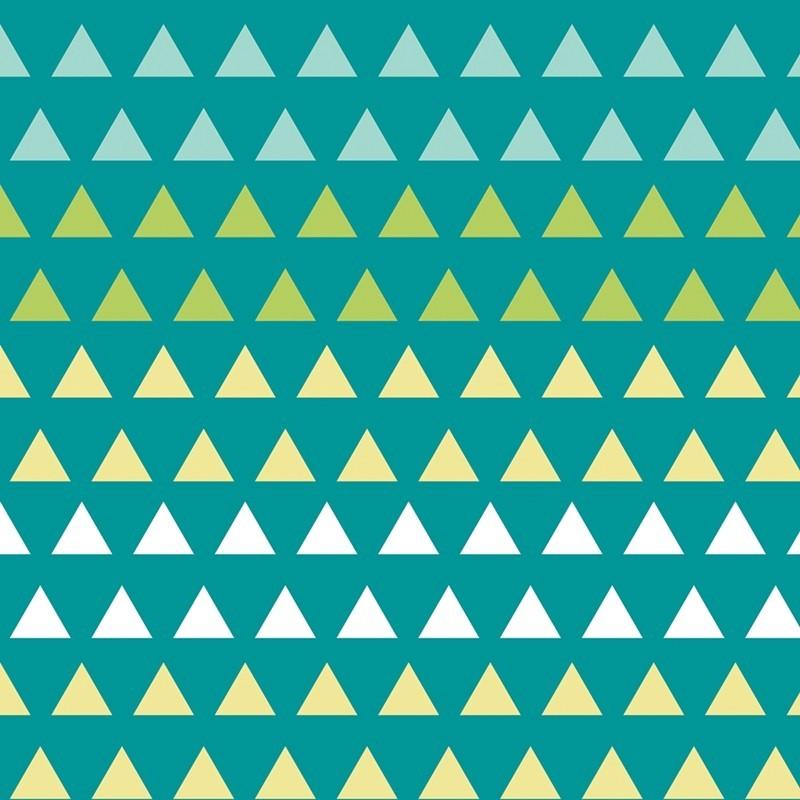 Bali Triangle Gradient-bavlněná látka CAMELOT FABRICS - 1