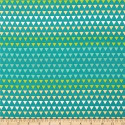 Bali Triangle Gradient-bavlněná látka CAMELOT FABRICS - 2