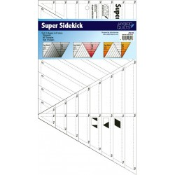 Pravítko na patchwork Super Sidekick Ruler Jaybird Quilts - 1