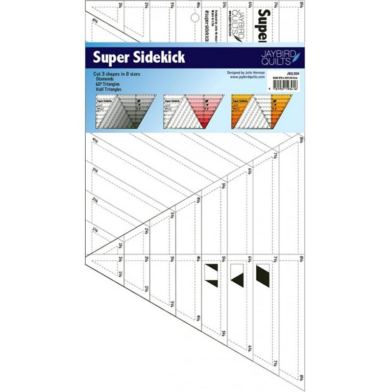 SUPER SIDEKICK RULER Jaybird Quilts - 1