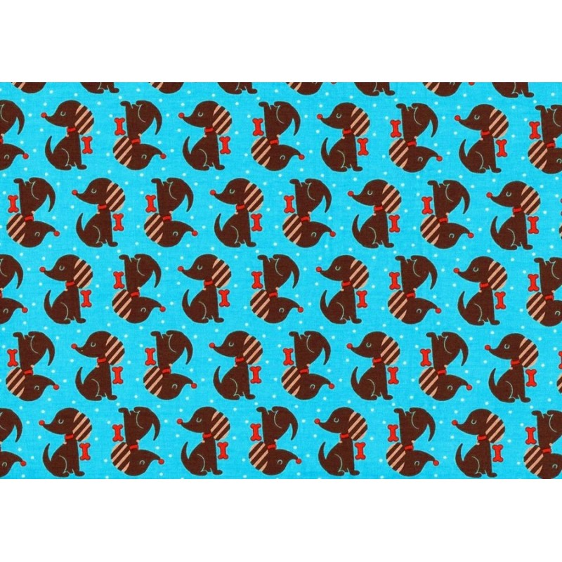 KNIT RACCOON - TURQUOISE