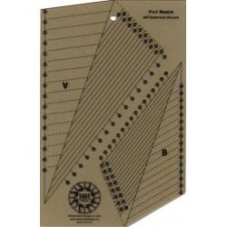 Pravítko RULER AND BOOK FAT ROBIN COMPASS ROBIN RUTH DESIGN - 3