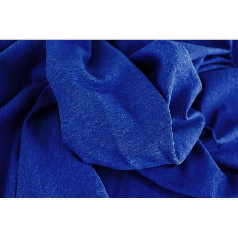 DENIM LOOK - ROYAL BLUE - teplákovina elastic