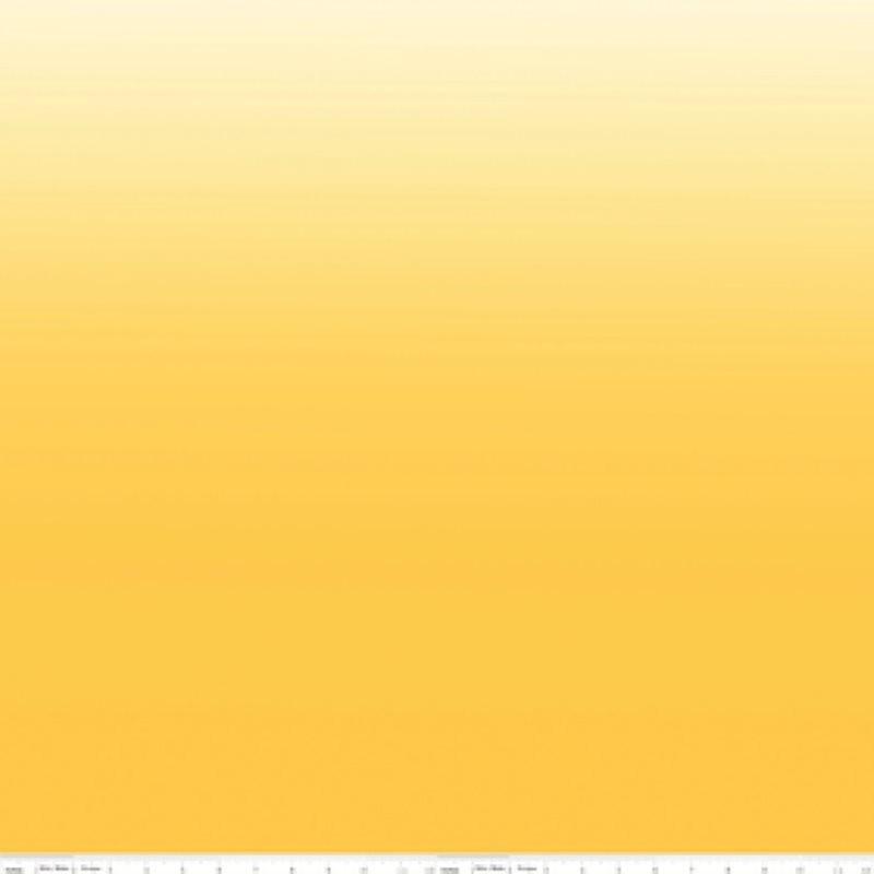 COTTON OMBRE - žlutá-bavlněná látka RILEY BLAKE FABRICS - 1