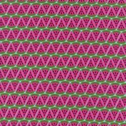 WATERMELON - PINK-cotton knit