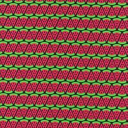 WASSERMELONE - ROT-Baumwolle stricken