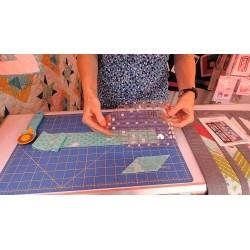 Pravítko na patchwork COTTAGE RULER 5,5x8 inch CREATIVE GRIDS - 2