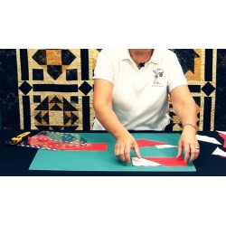 Pravítko na patchwork HOUSE  RULER 9X12,5  inch CREATIVE GRIDS - 2