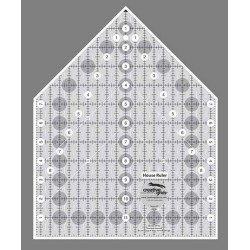 Linijka do patchworku HOUSE RULER 9Х12,5 cm