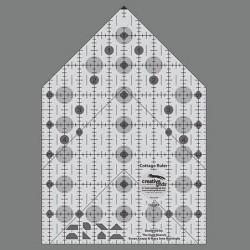 Линейка для пэчворка COTTAGE RULER 5,5x8 см