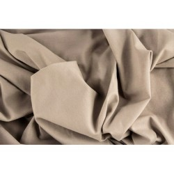 ÚPLET EVROPSKÉ LÁTKY UNI KNIT - ECRU 28 Luxury imported, soft and comfortable cotton jersey . Suitable for dresses, t-shirts, b