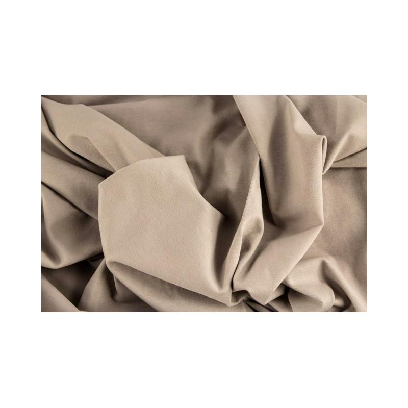 ÚPLET EVROPSKÉ LÁTKY UNI ÚPLET - ECRU 28 Luxusní dovozový, měký a pohodlný bavlněný úplet . Vhodný na šaty, trička, halenky, le