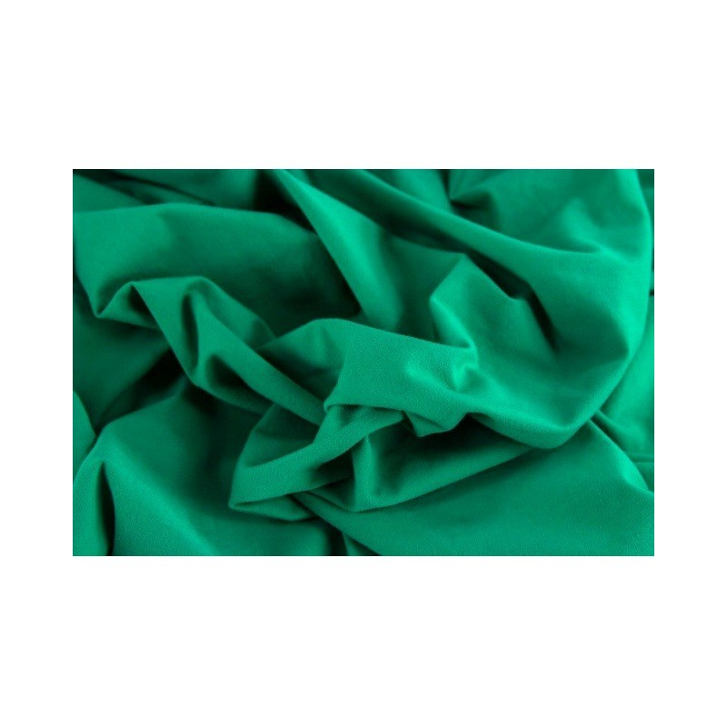 ÚPLET EVROPSKÉ LÁTKY UNI KNIT - EMERALD 28 Luxury imported, soft and comfortable cotton jersey . Suitable for dresses, t-shirts