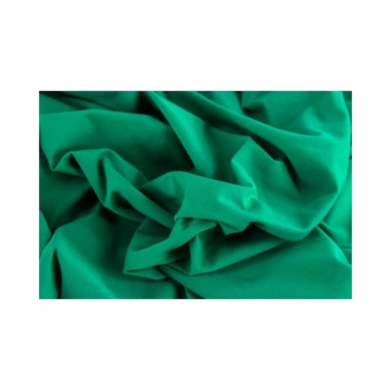 ÚPLET EVROPSKÉ LÁTKY UNI KNIT - EMERALD 28 Luxury imported, soft and comfortable cotton jersey . Suitable for dresses, t-shirts