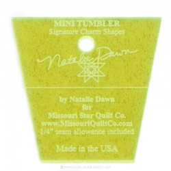 Pravítko na patchwork  Mini Tumbler Template MISSOURI STAR QUILT COMPANY - 1
