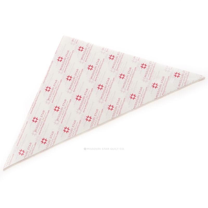 PRAVÍTKA NA PATCHWORK MISSOURI STAR QUILT COMPANY Wacky Web Paper Refills 215 Wacky Web Paper Refills - papíry k šití se šablon