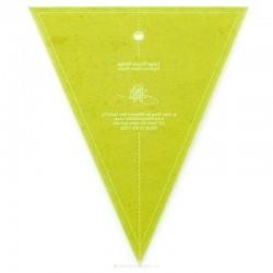 Lineal für patchwork-Große, Einfache Keil-Vorlage