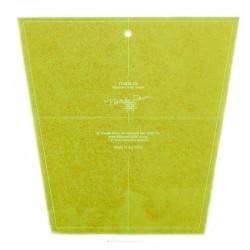 Large Tumbler Template для квадрата 10 дюймов