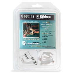 Sequins N Ribbon Presser Foot  - 1