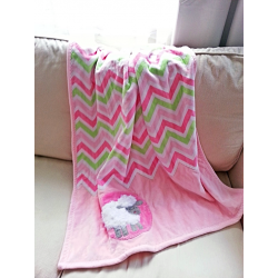 Blanket for baby or toddler - SHEEP