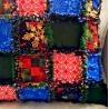 Patchwork pillow winter/christmas