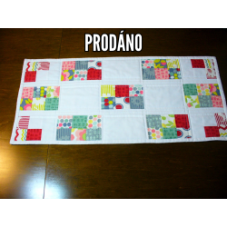 Современные одеяло (бегун) на столе