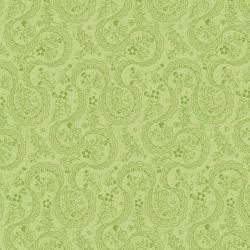 Der Stoff ist Symphony Rose - grün paisley