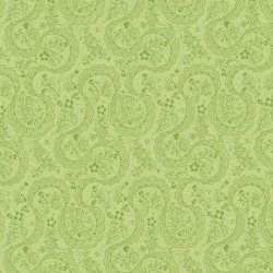 The substance is Symphony Rose - green paisley