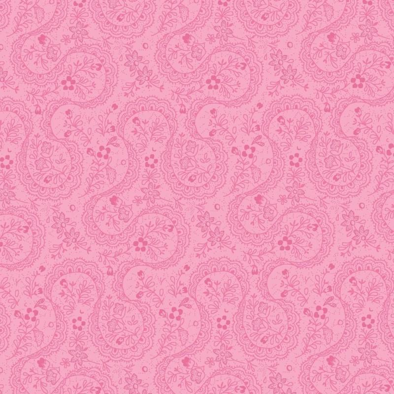 Symphony Rose - pink paisley