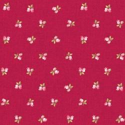 Der Stoff ist Symphony Rose - Rosen mini-rot