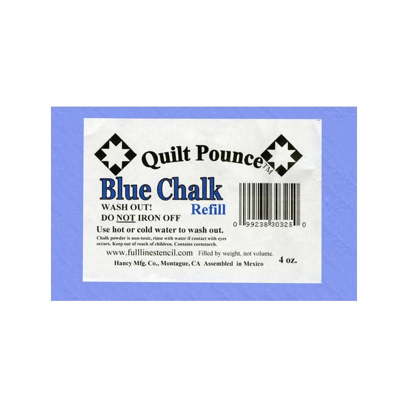 Náhradní křída do polštářku  - modrá