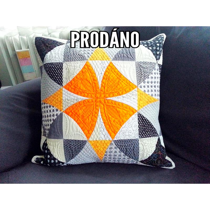 PRODÁNO - POLŠTÁŘ WINDING WAYS  - 1