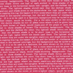 Látka L's Modern Spring-text (pink/bílá) Lecien Japan - 1