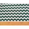Baumwolle Stoff T0112 - chevron-dunkelgrün