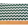 Cotton fabric T0112 - chevron dark green