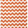 Cotton fabric T0108 - chevron orange