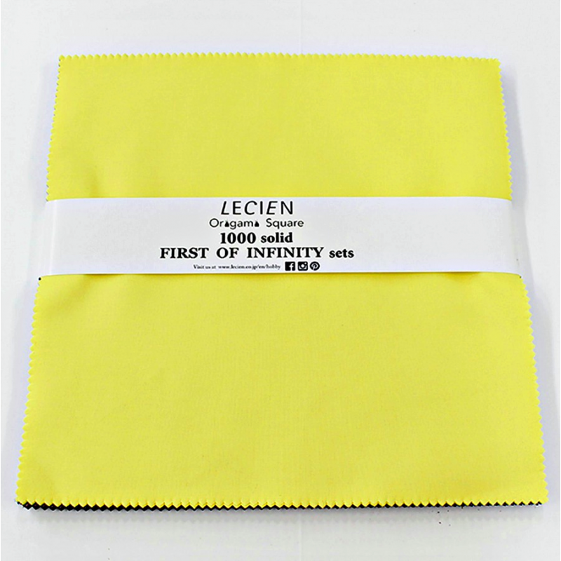 LAYER CAKE 1000 Color Solids - First of Infinity Lecien Japan - 1