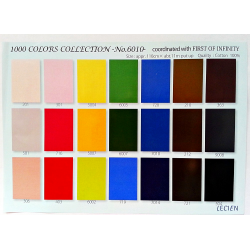 LAYER CAKE 1000 Color Solids - First of Infinity Lecien Japan - 2