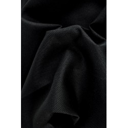KANVAS- NA KABELKY - PLAIN BLACK