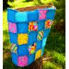 DEKY DĚTSKÁ PATCHWORK RAG DEKA-KOČIČÍ II 1800 Měkounká a teplá dětská patchworková deka šitá technikou rag. 3