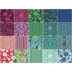 TRUE COLORS AMY BUTLER Fat Quarter Bundle ,20 ks Free Spirit - 3